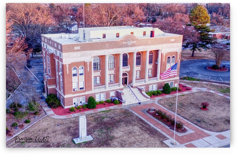 Lonoke AR | Courthouse Render by Provision UAS