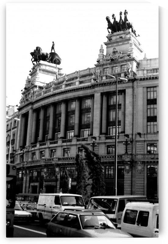 Calle de Alcalá  Madrid by Antonio Pappada