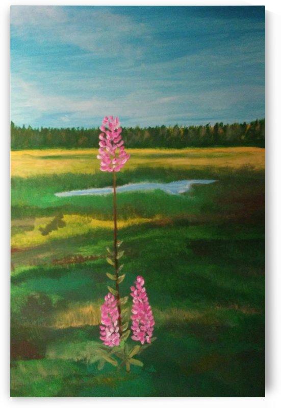 Finnish Countryside by Ninabana Art Studio