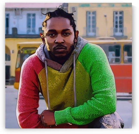Kendrick Lamar  by Anbessa Graphics