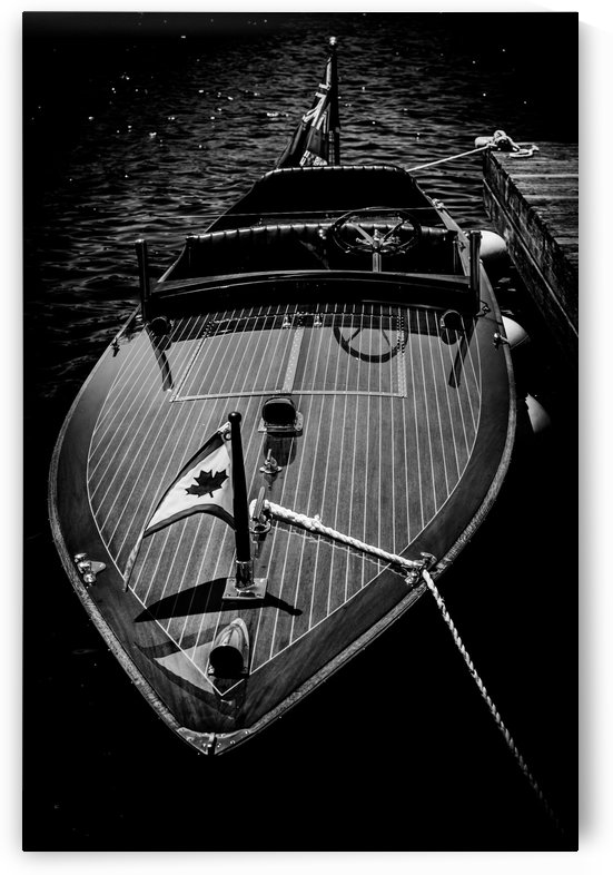 Vintage Speed Boat by August Ferdinand
