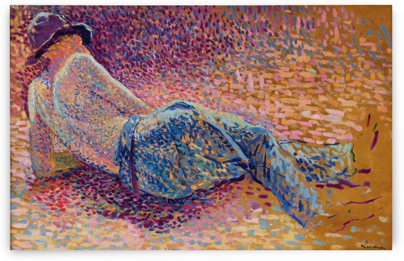 The Labourer's Resting by Maximilien Luce