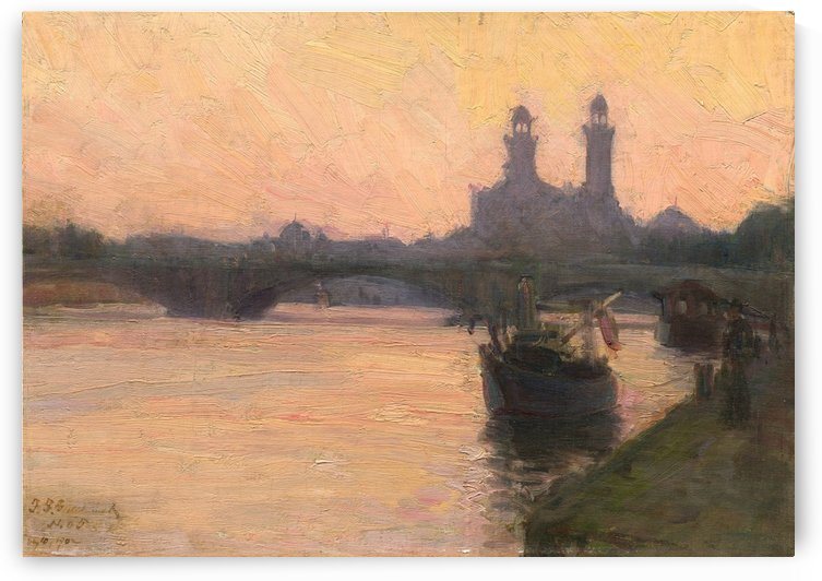 The Seine by Maximilien Luce