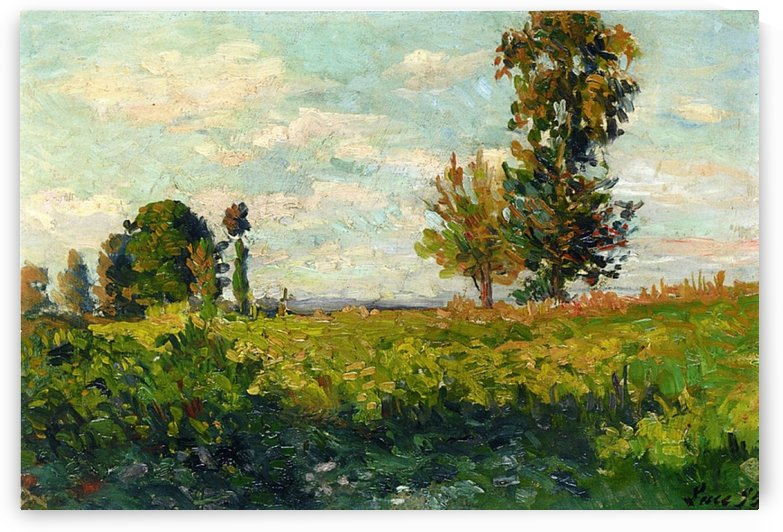 Fields by Maximilien Luce