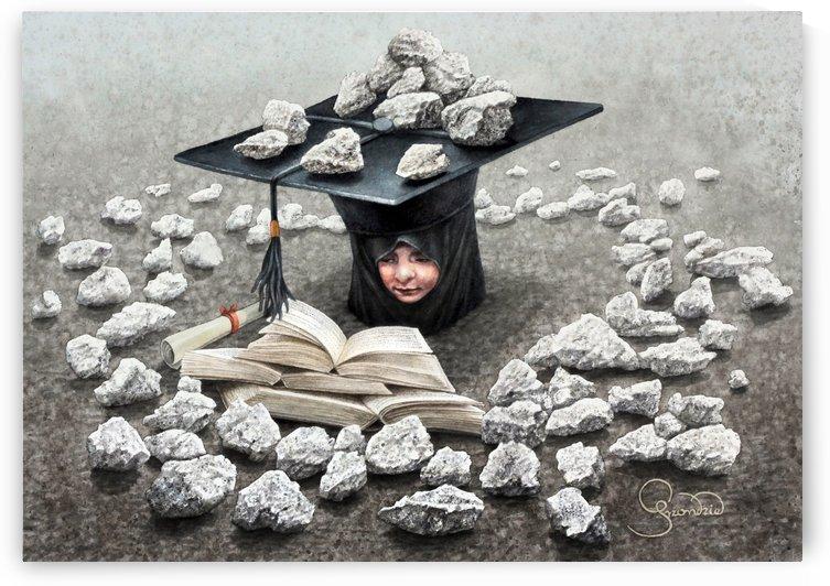 Girls education by Krzysztof Grzondziel by Krzysztof Grzondziel