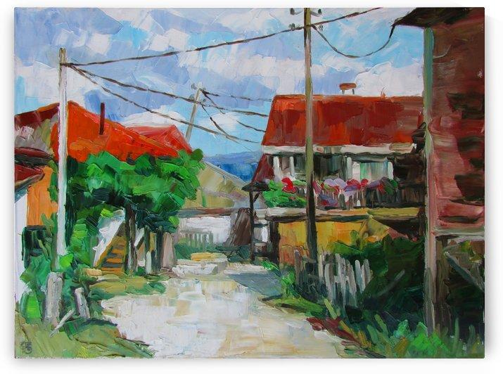 Old village  by Kateryna Bortsova
