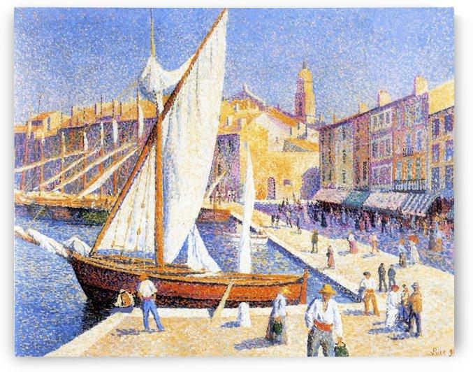 Saint-Tropez by Maximilien Luce