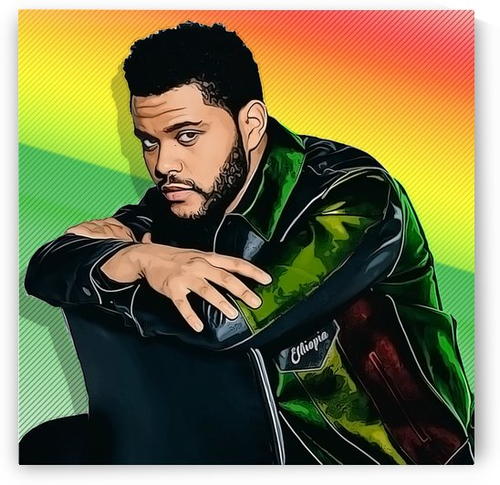 The Weeknd by Anbessa Graphics