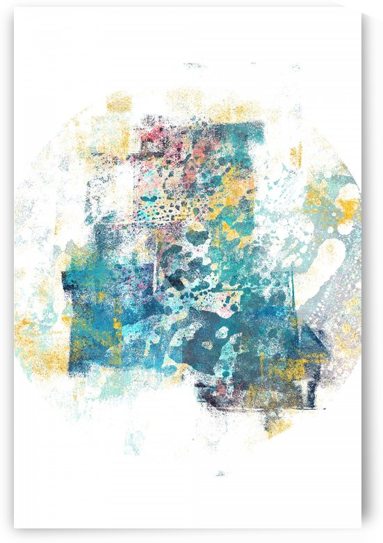 City Tide - Abstract Painting II by Art Design Works