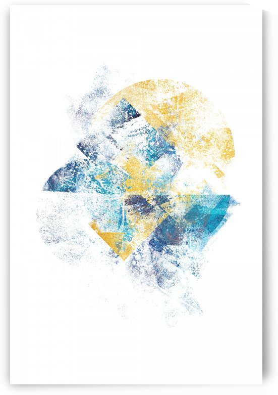 Mystic Horizon - Abstract Painting VI by Art Design Works