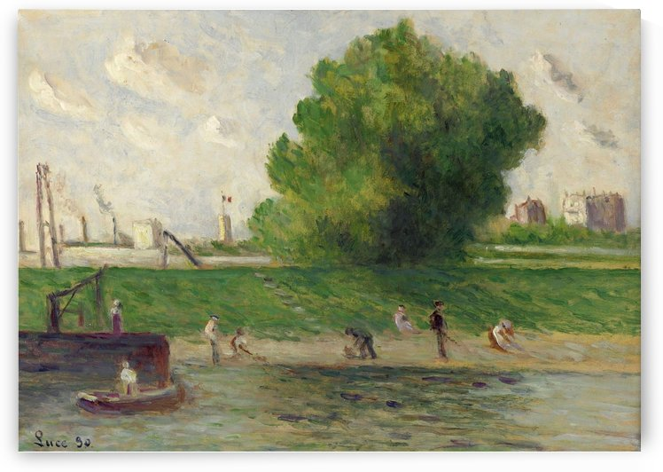 Outskirts of Etamples by Maximilien Luce