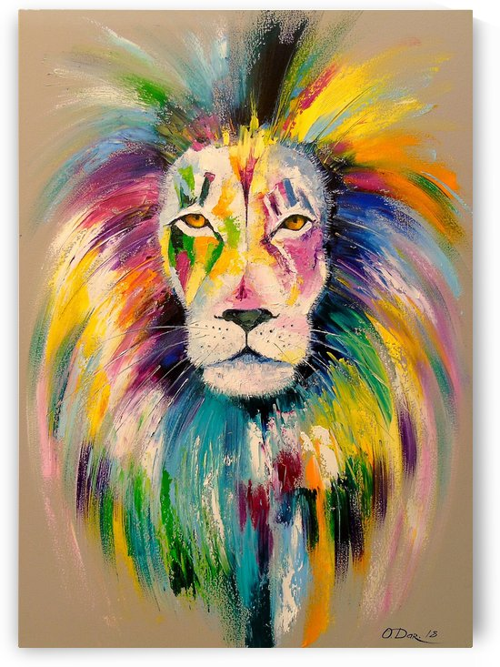 Lion by Olha Darchuk