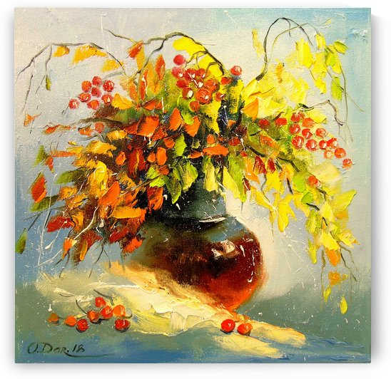 Autumn bouquet by Olha Darchuk