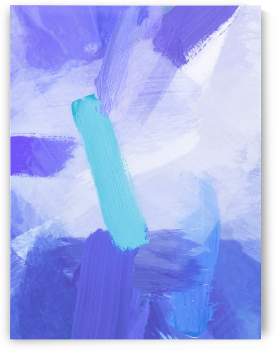 brush painting texture abstract background in blue by TimmyLA