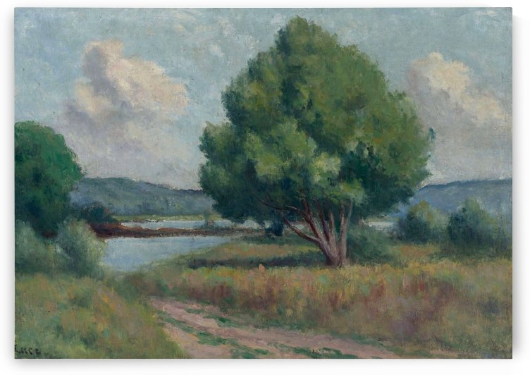 Roche-Guyon, the Trees by Maximilien Luce
