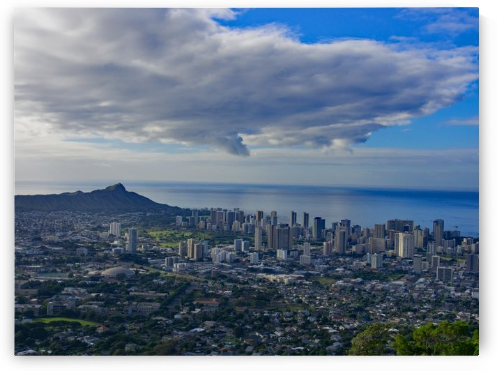 city of honolulu from tantalus by Asia Visions Photography