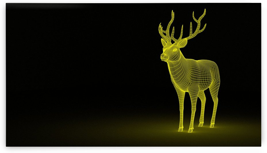 animal deer forest wild animal by fabartdesigns
