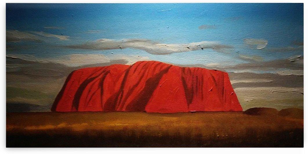 Uluru by Ninabana Art Studio