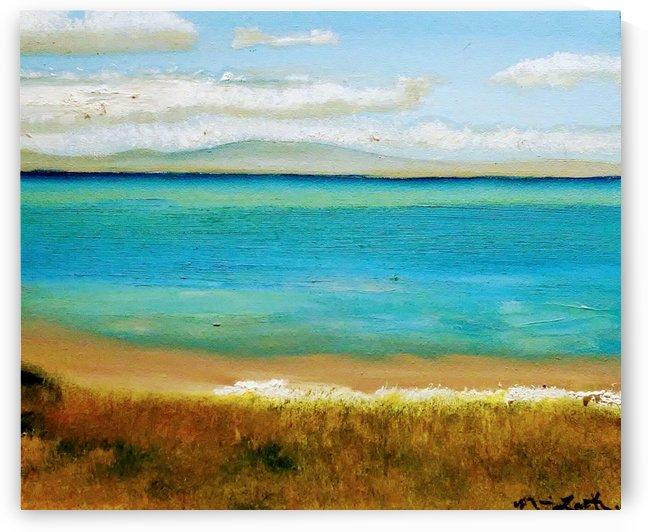 Isla Tranquila by Ninabana Art Studio