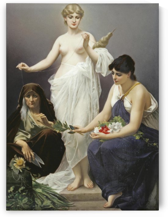 The Three Fates by Odilon Redon