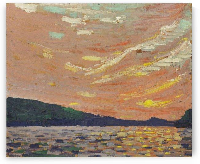 Landscape at Daybreak by Odilon Redon