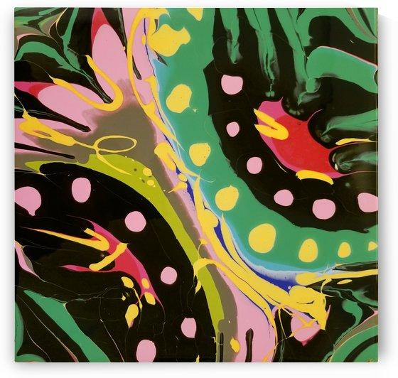Tropical Branch by Ann Davis Art