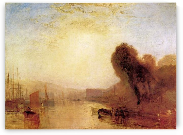 Regatta at Cowes Castle by Joseph Mallord Turner by Joseph Mallord Turner
