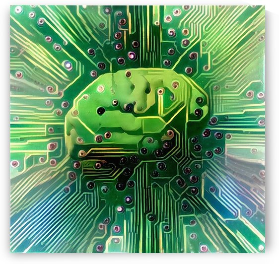 Electronic Brain by Bruce Rolff