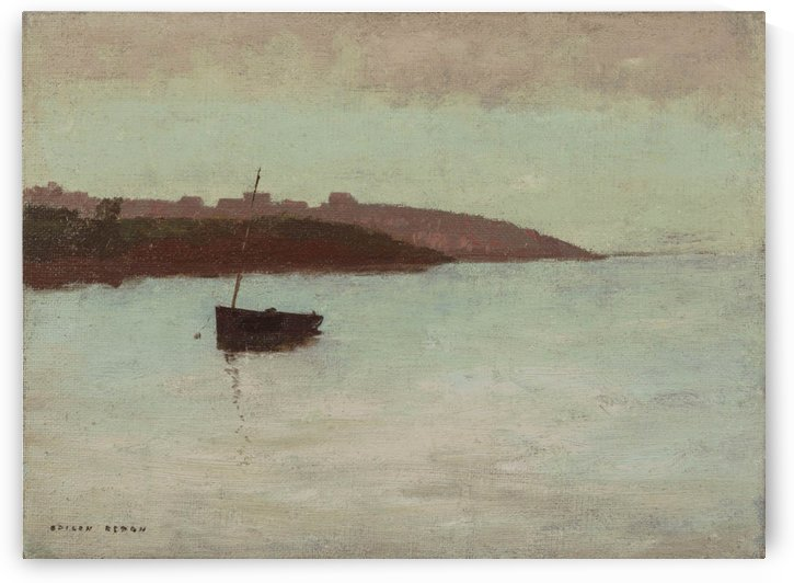 Fishing Boat by Odilon Redon