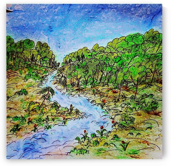 River of Many Turns by djjf