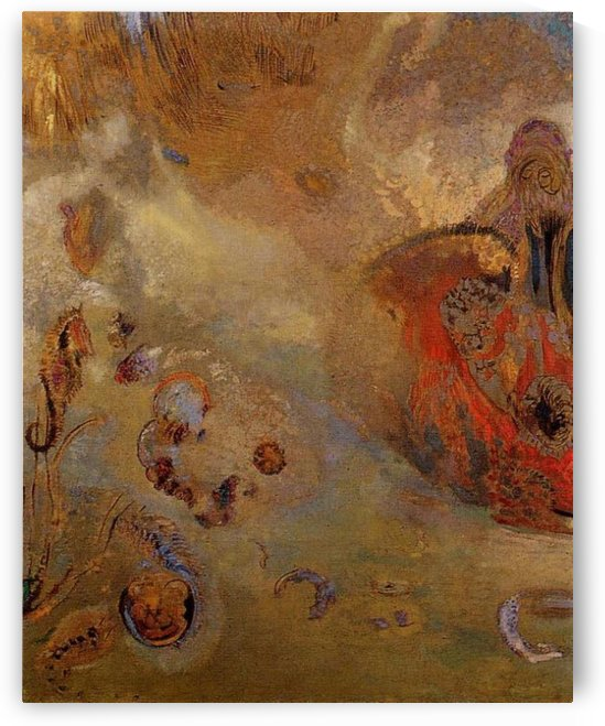 Underwater Vision by Odilon Redon