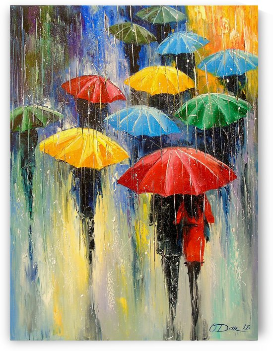 Rain by Olha Darchuk