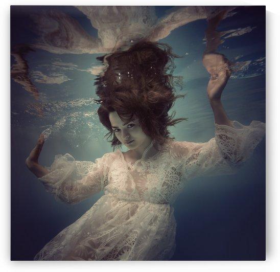 Lace portrait by Dmiry Laudin