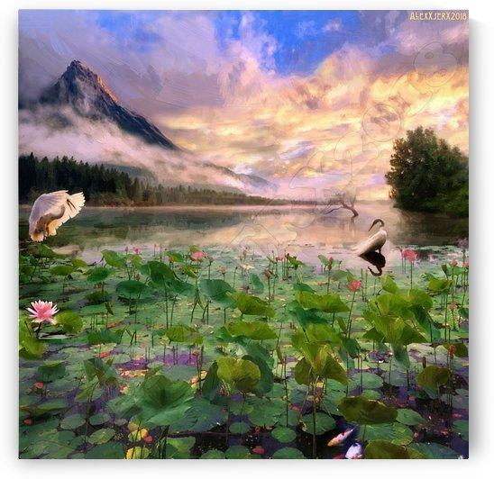 Holy lake by AlexXserx
