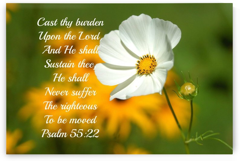 Cast thy burden upon the Lord by Edifying Designs