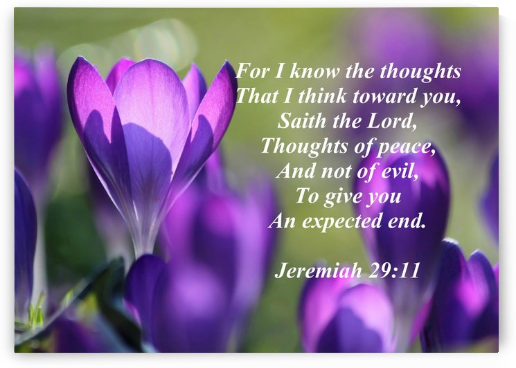 For I know the thoughts by Edifying Designs