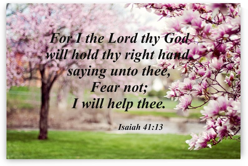 I will hold thy right hand by Edifying Designs