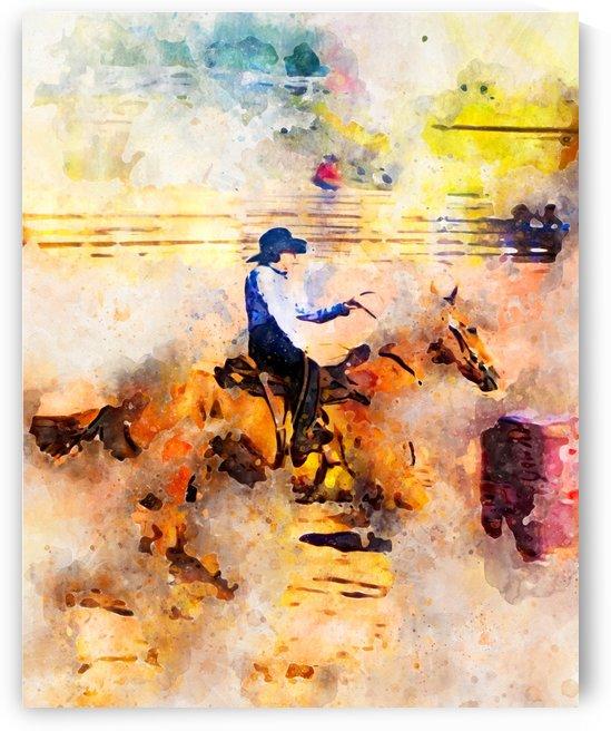 Rock Creek Rodeo Girl by Nancy Calvert