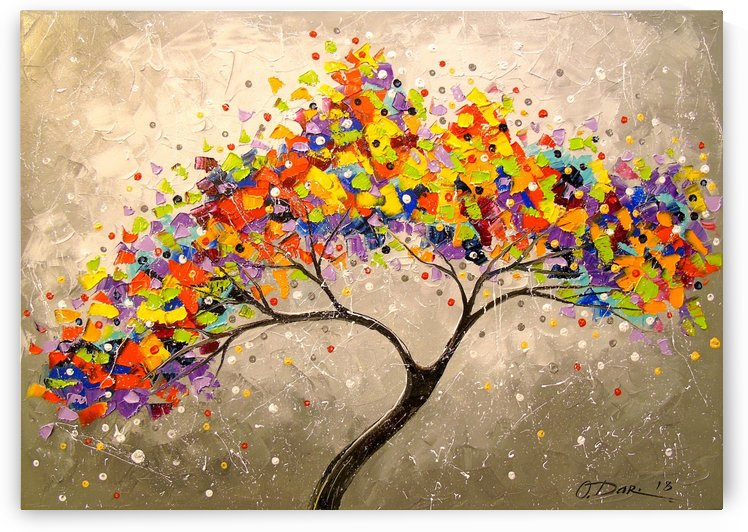 Tree of happiness by Olha Darchuk