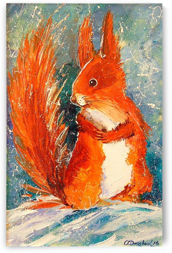 Squirrel by Olha Darchuk