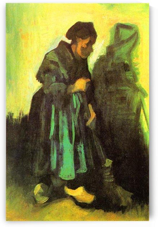 Return of the farmer by Van Gogh by Van Gogh