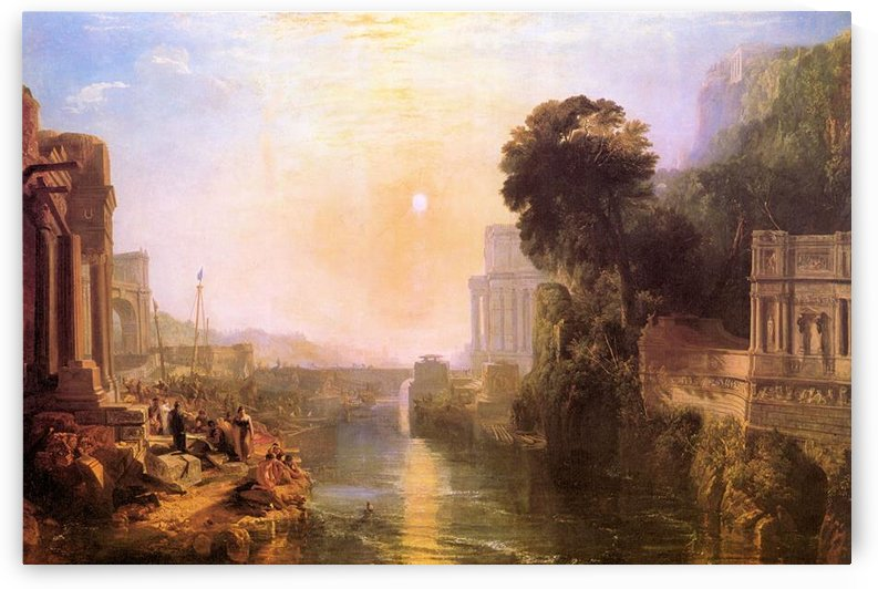 Rise and fall of Carthage by Joseph Mallord Turner by Joseph Mallord Turner