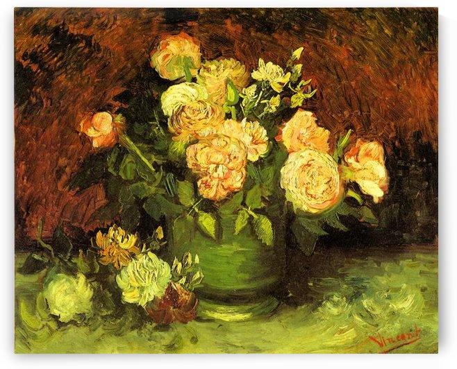 Roses by Van Gogh by Van Gogh
