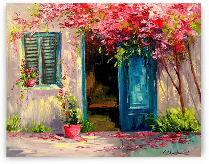 Blooming patio by Olha Darchuk