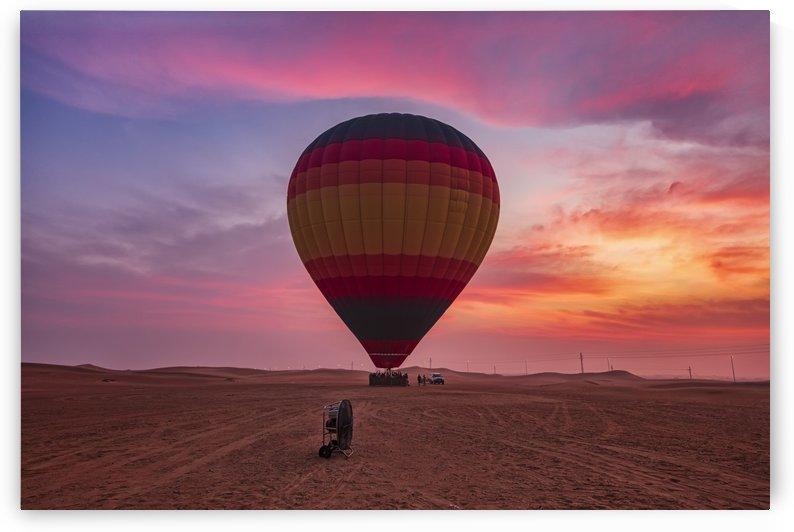 Balloon Ride at Sunrise by Alex Galiano