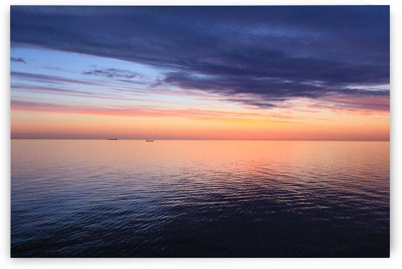 Baltic Sea Sunset by Alex Galiano