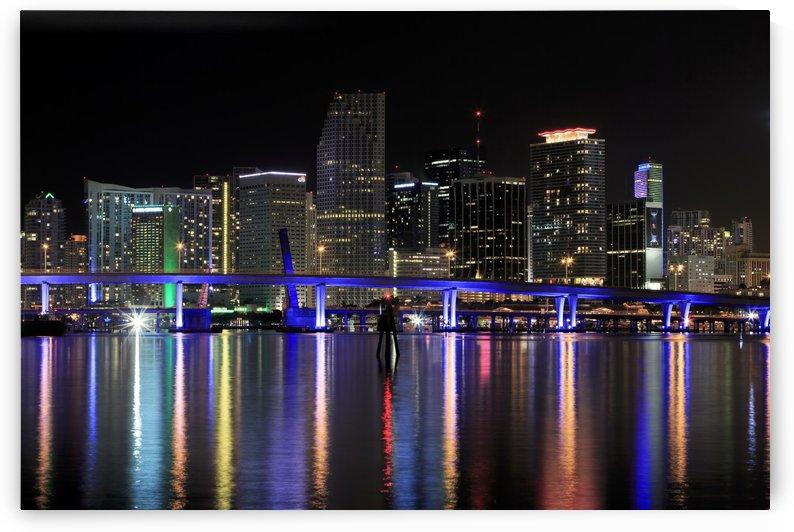 Miami City Lights by Alex Galiano