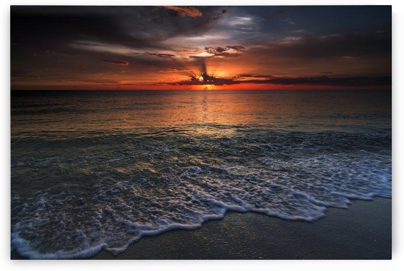 Beach Sunset by Alex Galiano