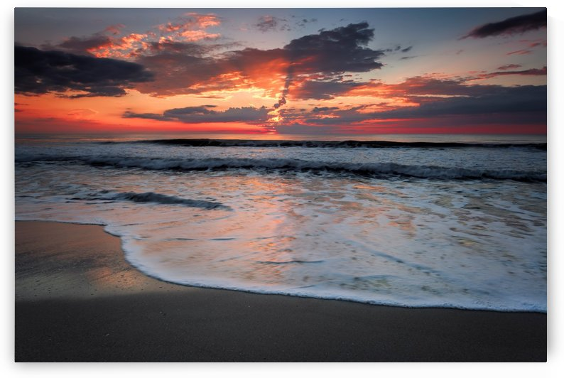 Melbourne Beach Sunrise by Alex Galiano