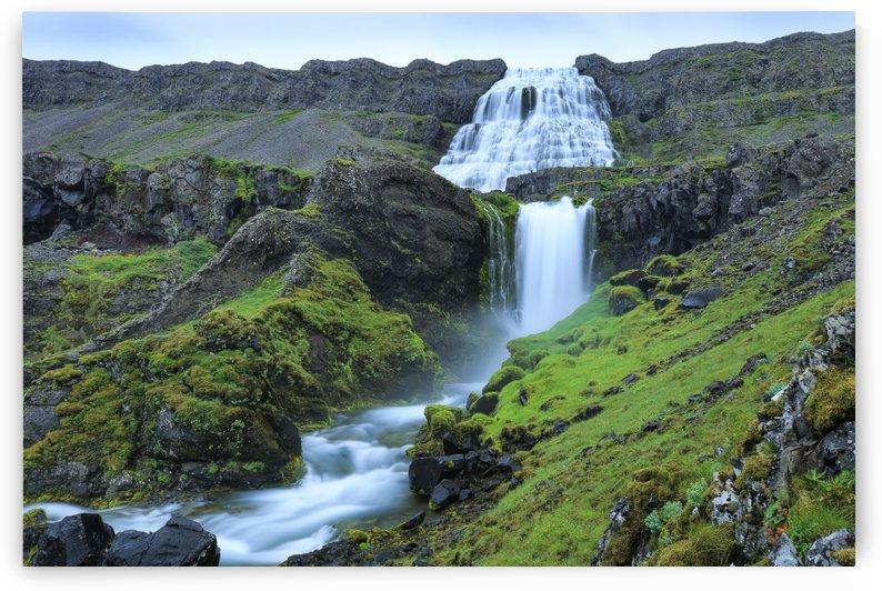 Dynjandi Waterfall by Alex Galiano